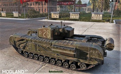 Sgt_Krollnikow51's Skin for the Churchill MK.III LL (Lend Lease) heavy Premium Tank 2.4 [1.3.0.1], 3 photo